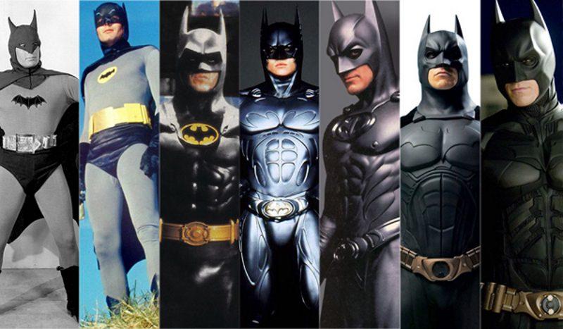 видоизменения Бэтмена