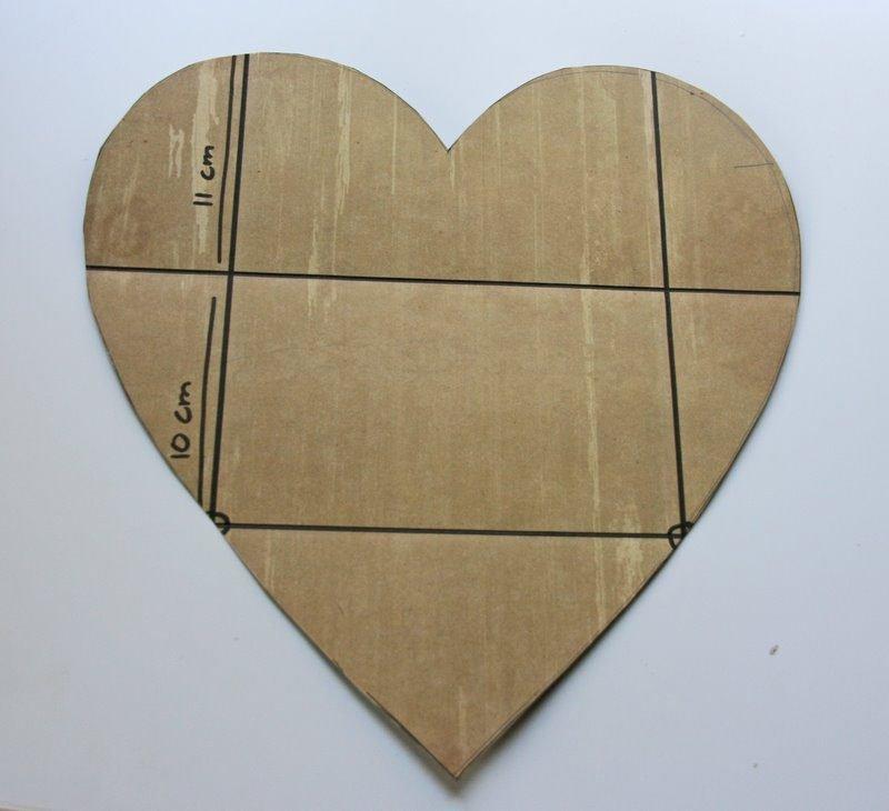 Делаем конверт из сердечка