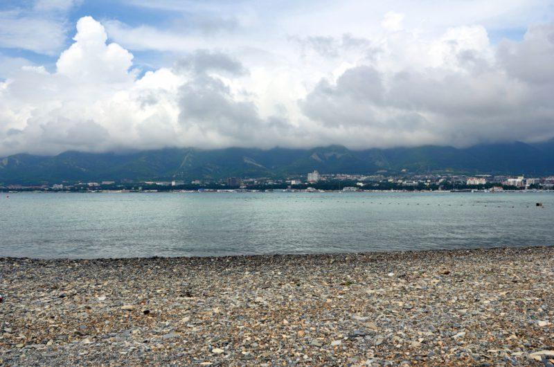 Черное море в Геленджике
