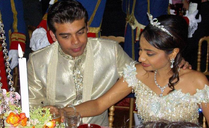 Свадебная церемония Ваниши Миттал и Амита Бхатиа