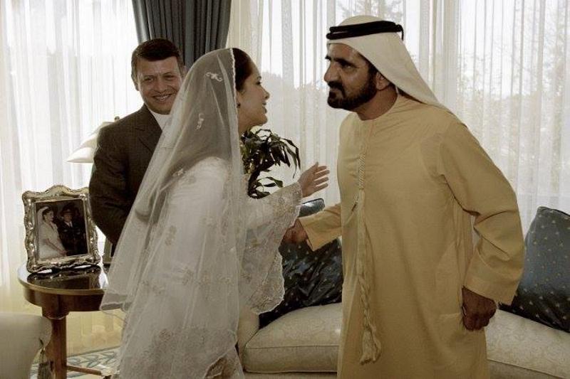 Бракосочетание шейха Мохаммеда бин Рашида аль-Мактума и принцессы Саламе