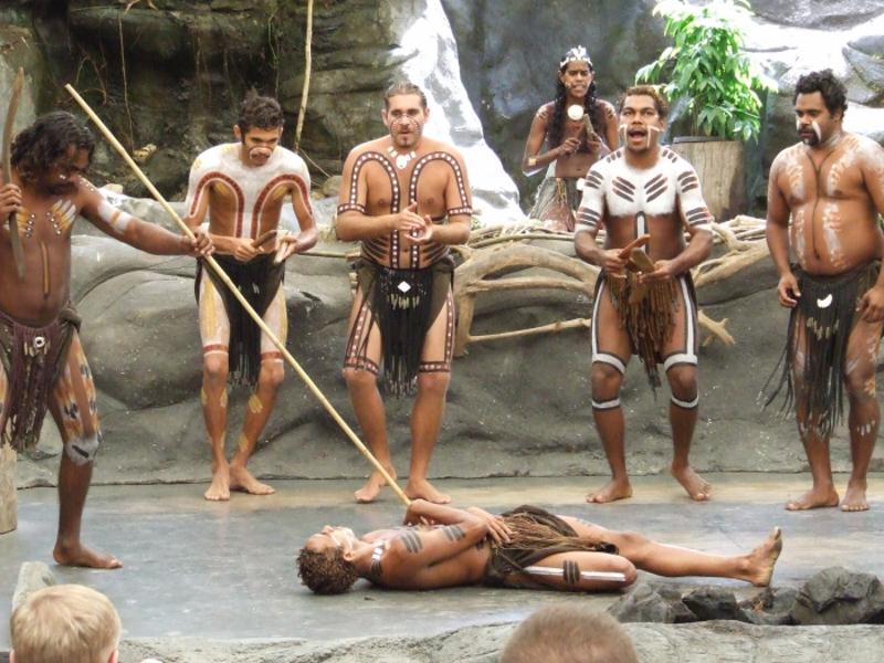 Обряд инициации австралийских аборигенов