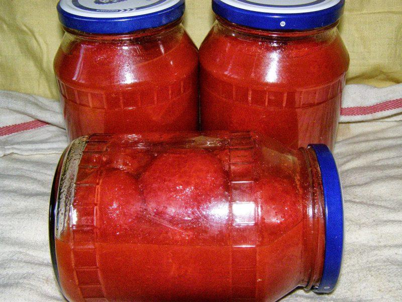 маринованные помидоры в томатном соке