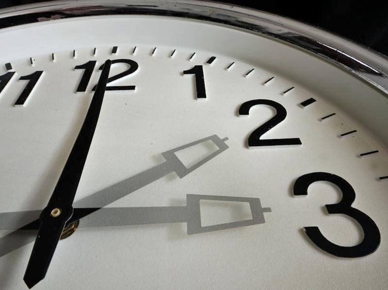 сведения про перевод часов