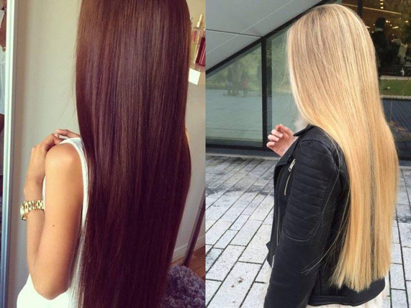 Красота длинных волос