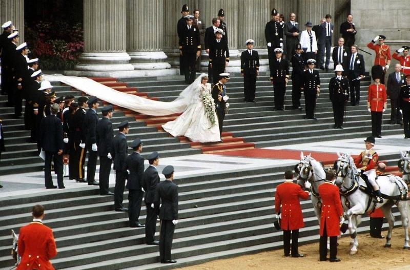 Бракосочетание леди Дианы и принца Чарльза