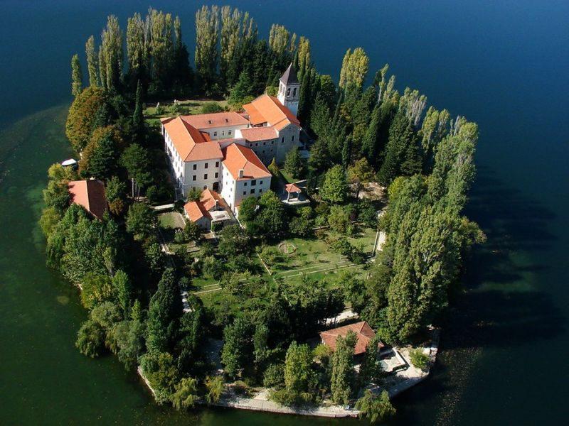 замок в Хорватии