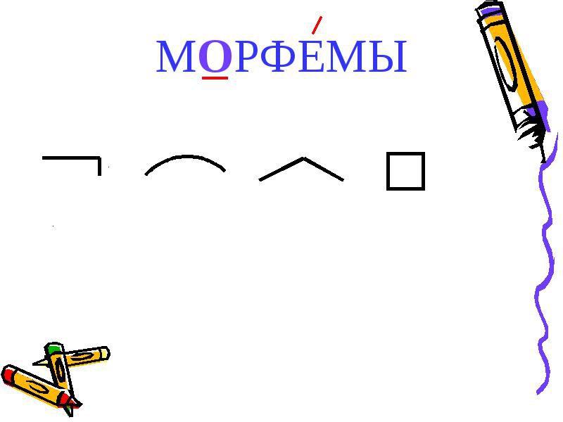 морфема в русском языке