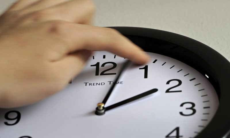 когда переводят часы