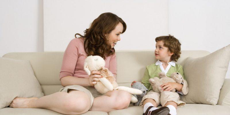 как поговорить с ребенком