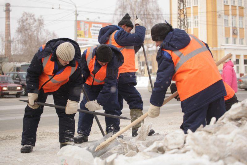 уборщики улиц