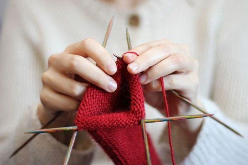 набор для вязания для бабушки