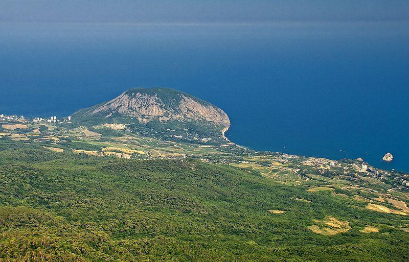 Самая высокая точка Крыма