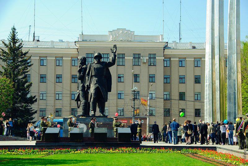 Памятник героическим защитникам Тулы в 1941 г.