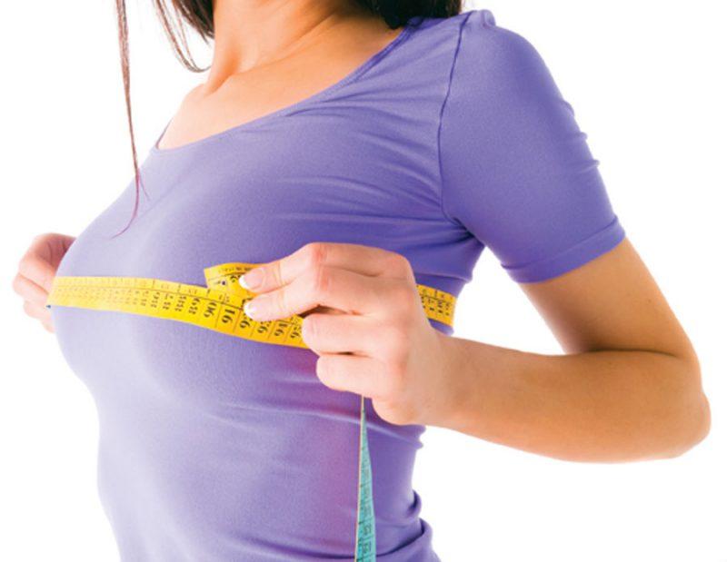 Как правильно определить размер груди