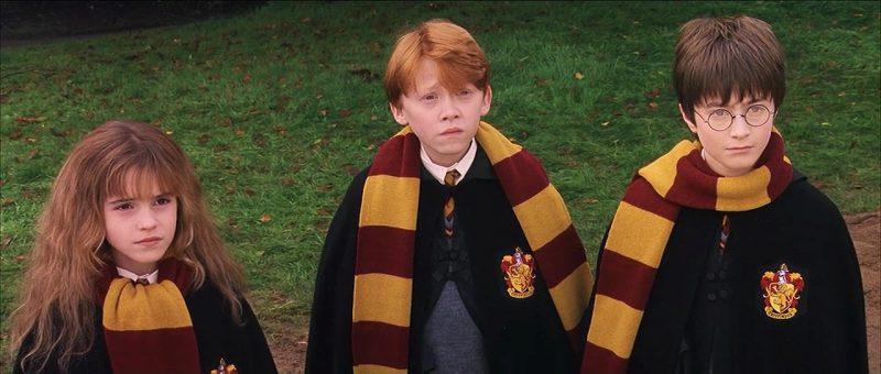 Такими были Уотсон, Грин и Рэдклифф в первой части «Гарри Поттера»