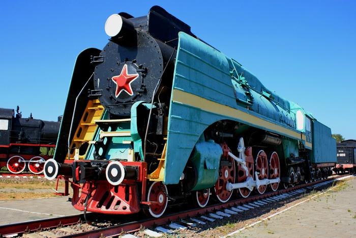 музей паровозы россии