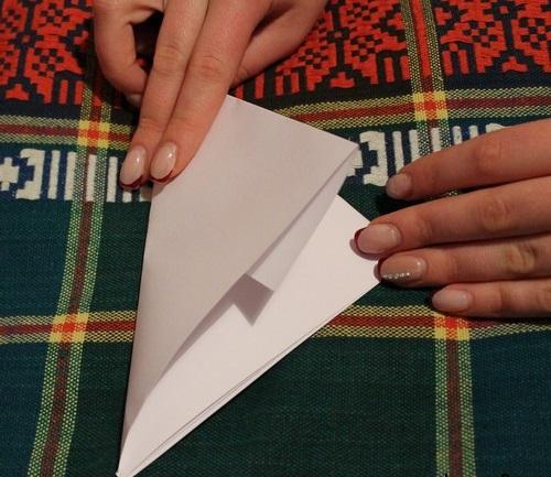 образовываем треугольник