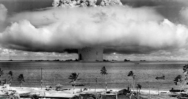 гриб от атомной бомбы