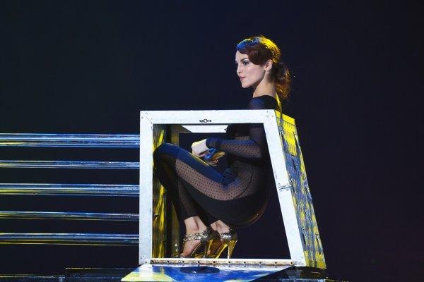 Сати Казанова пришла на детский праздник без белья