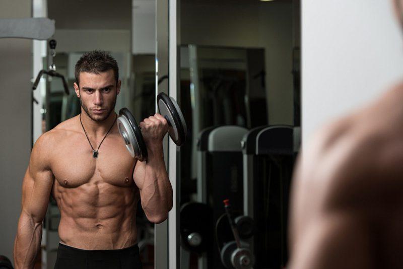 Регулярные тренировки для набора массы
