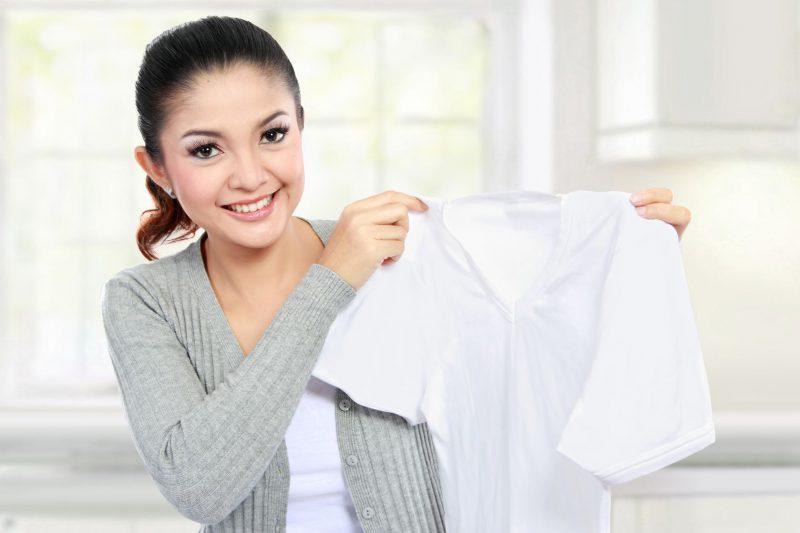 Как правильно стирать белые ткани?