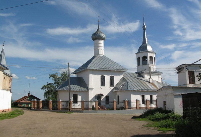Церковь Николы на Подозерье
