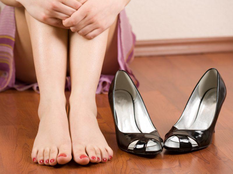 отеки ног у женщин