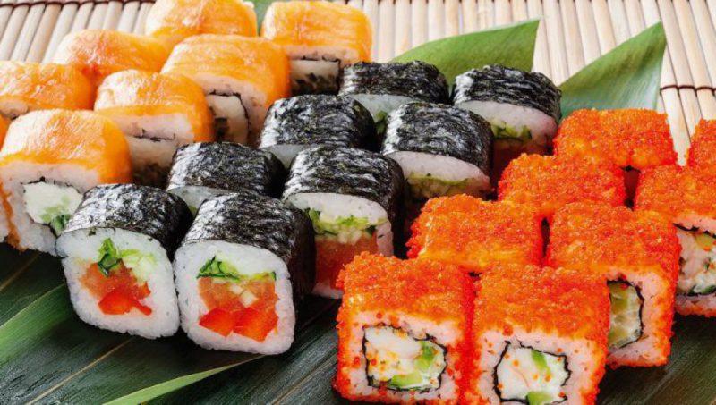современные суши
