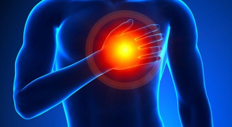 очаг поражения сердца