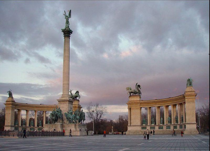 Памятник Тысячелетия Венгрии