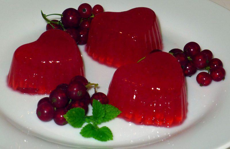 желе из красной смородины