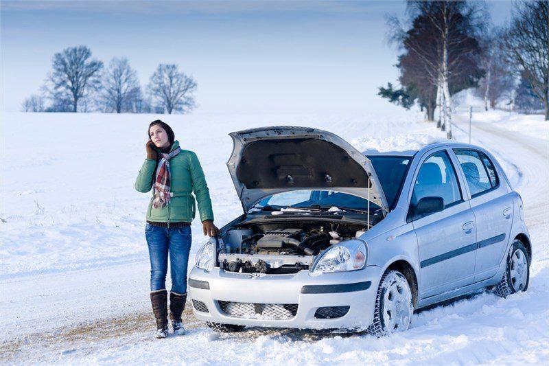 Машина не заводится в мороз