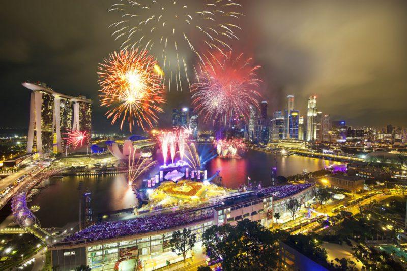 Сингапуре отмечают день Республики