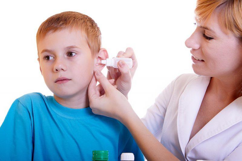 как лечить ухо при простуде