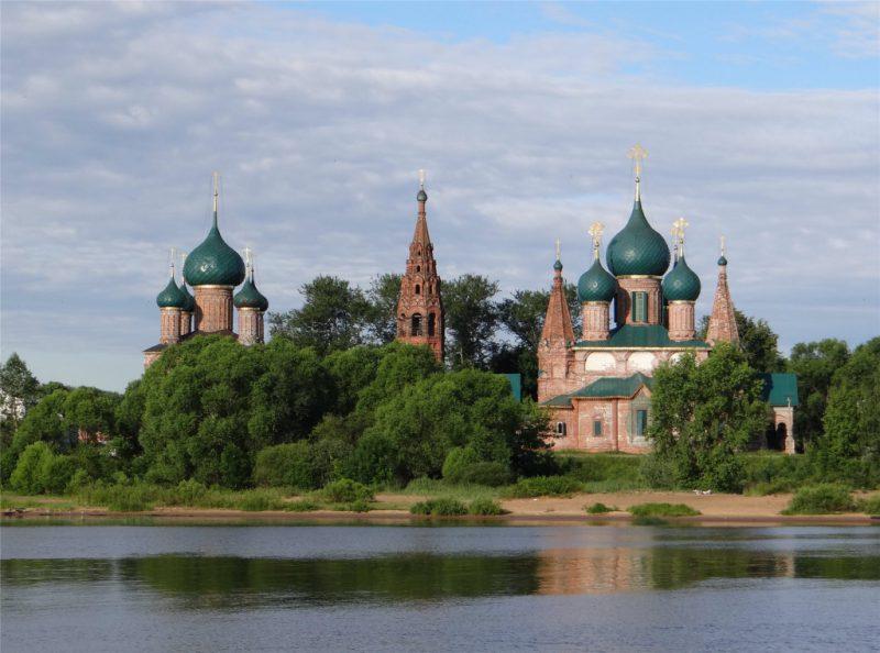 Храмовый комплекс в Коровницкой слободе