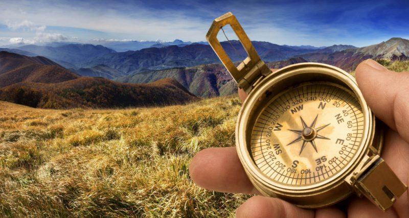 Обозначение компаса