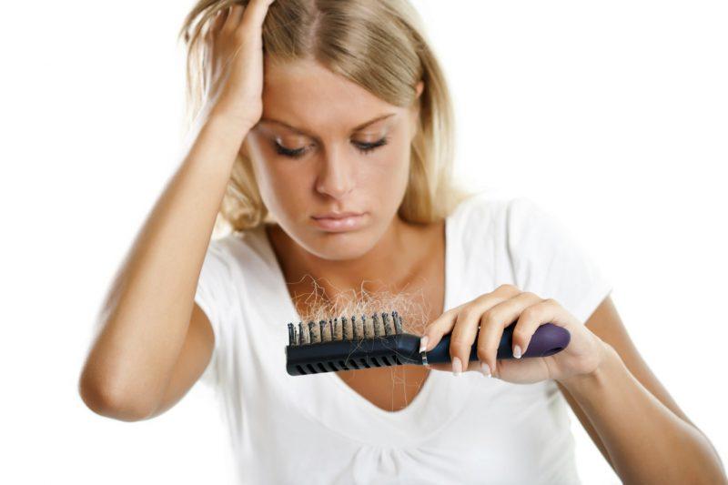 Тестирование выпадения волос