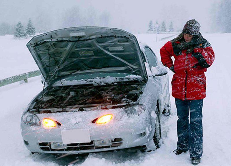 Машина не заводится в сильный мороз из-за плохой экипировки