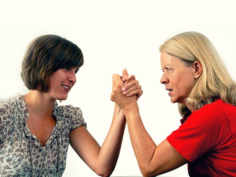 как прекратить вражду со свекровью