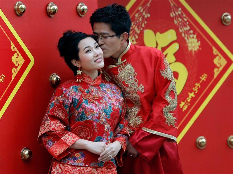 День всех влюбленный в Китае