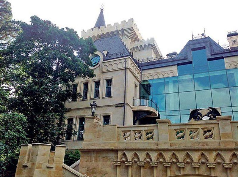 Замок Галиных