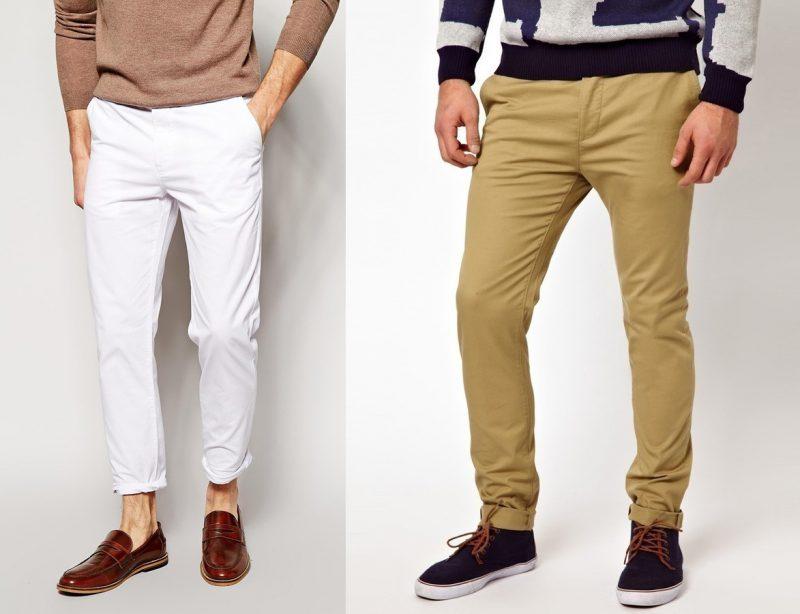Чинос мужские штаны