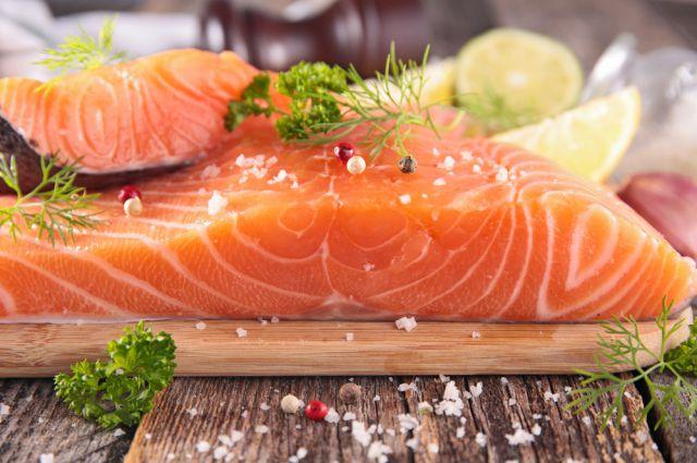 Самый простой способ засола красной рыбы