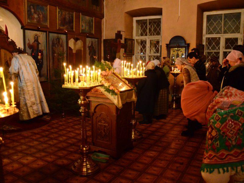 Службы на христианские праздники