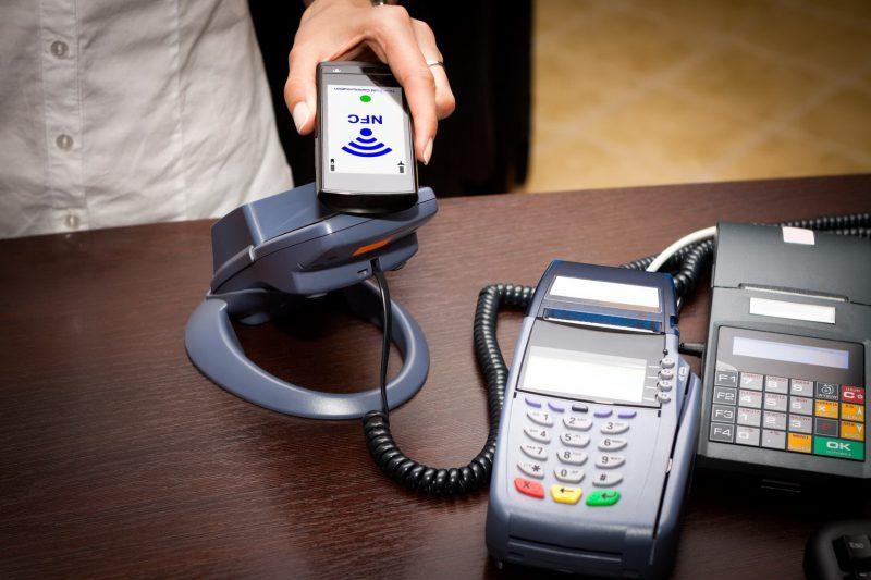 Оплата покупки с помощью телефона