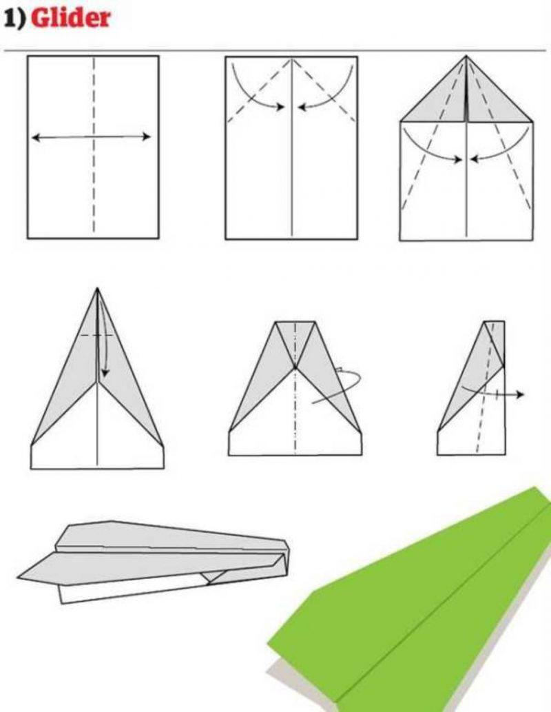 Схема простого самолетика