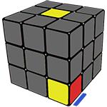 нижний кубик