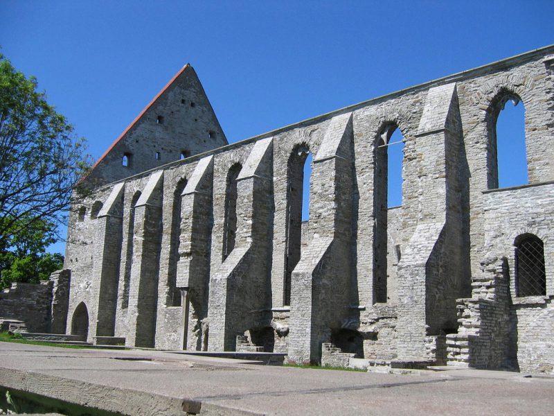 Руины монастыря Святой Бригитты