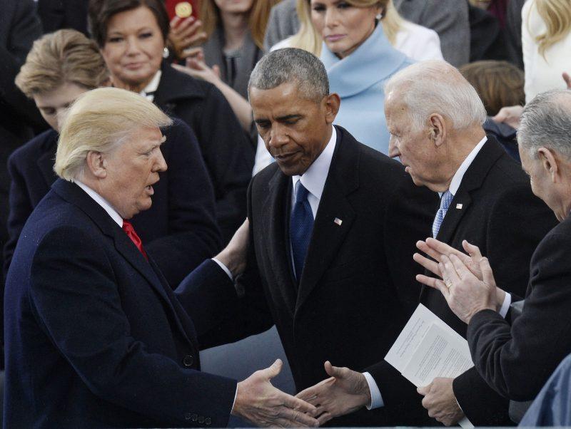 обама и трамп